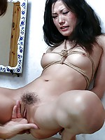 Yuu Komine Stripped And Fingered