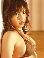 Sexy asian hottie showing off her curvey body in lingerie