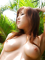 Yua Aida shows off her lovely tits in these pics from AllGravure