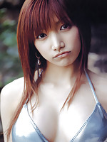 Stacked asian idol with milky white skin and big round boobs