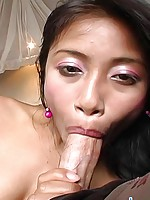 Thainee gets a creampied pussy