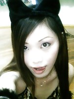 Cute Chinese gf trying some self shot action