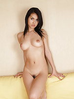 Beautiful gravure idol with a tight little bottom and perky tits