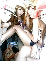 Chinese teens looks like a bunch of wild party girls