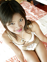 Tussinee is one cute teen Asian girl!