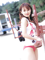Mesmerizing asian beauty with pale ivory skin and a petite body