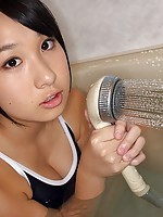 Asian Girls in Shower
