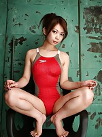 Asian Girls Swimsuit