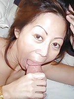 Wet and horny Korean milf hungry for cock