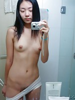 Nice Korean teen girl getting naked