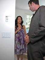 Watch hot asian babe masterbate and get fucked by her plumber at the house in these hot fucking cumfaced asian pics
