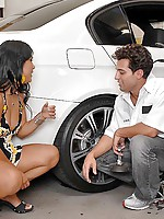 Check out this hot california asian babe kyanna get nailed in her tight pussy by her mechanic after she couldnt afford the bill