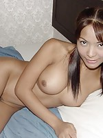 Nude Asian Pigtails