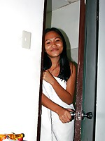 True Filipina beauty Samantha just adores white cock