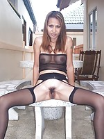 Stockings Asian Porn