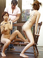 Nude Asian Group Sex