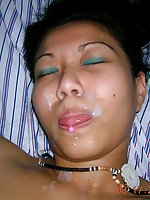 Asian Girls Cumshots