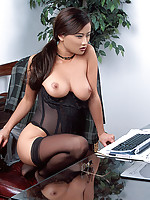 Asian Girls Stockings