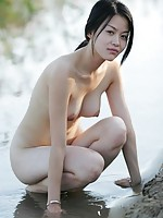 Asian Girls Outdoor