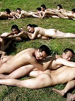 Asian Group Sex