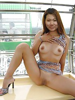 Asian Girls on High Hells