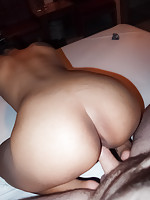 Rare pics of real Thai soapy massage girl fucked