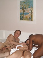 Mature Asian swingers take all sorts of cocks
