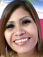 Smiley Thai beauty gets plowed then takes a huge load on her mouth