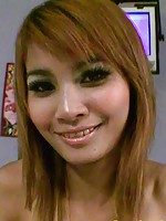 Hairy pussy sexy Thai girl Jane get the hard cock in her mouth and pussy
