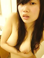 girl with nice perky little tits shows off her shape in some snaps