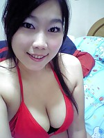 toshu takes thousands of pics of her tits in all her bikinis
