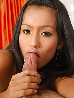 Thai Jun giving a blowjob