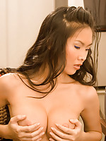 Thai Emiko touching herself