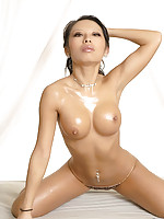 Devin Lee nude in tranlucent high heels
