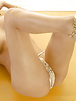 Sanny Aung stripping lace