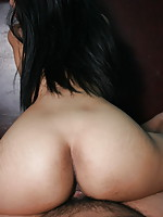 POV series of a hot Asian girl giving head and banged by the photographer