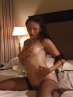 Hooker Alesha loves to swallow sperm!