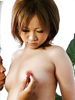 Kinky Japanese babe Ai Shirosakia in an toy orgy