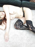 Nanako Yoshioka Asian has holes fucked by two men the same time