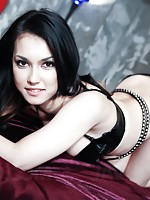 Maria Ozawa struts her stuff before being punished with dicks