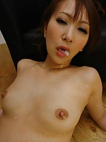 Toy loving Anna Mizukawa stuffed full of erotic sex toys