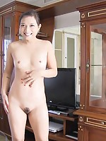 Sexy Asian girl named Pancake sucks and fucks for a creampie