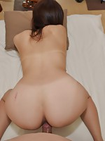 Horny mature Jap Mami Kobori getting her aged pussy fucked to reach climax.