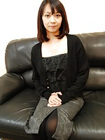 Japanese MILF Tomoe Tomoe Kasai enjoying a cock slides in and out her pussy.