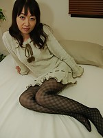 Japanese granny Yukiko Moritani wants cock inside her shaved cooch.