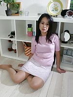 Japanese babe Terumi Irie getting pleasured with vibrators and hard cocks.
