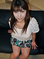 Japanese cougar Kumi Shibahara waiting for penetration as she strips down and reveals her sexy body.