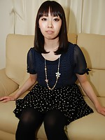 Japanese teen Misato Uemoto getting her pussy screwed with vibrators and hard cocks.