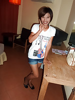 Bareback for Pattaya gogo girl Nipa on Walking Street in Thailand