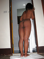 Thai girl from Surin lets anyone in her gogo fuck her big brown butt